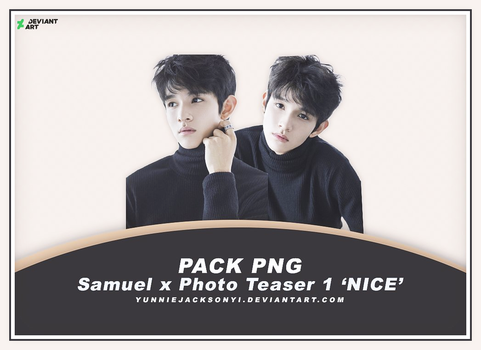 [PNG Pack #21] Samuel x Photo Teaser 1 'NICE' by yunniejacksonyi
