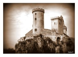 Foix - Castle of the Counts of Foix by Hubert11