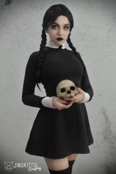 WEDNESDAY ADDAMS III - THE ADDAMS FAMILY by JinxKittieCosplay