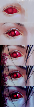 Plague eye - process by chirun