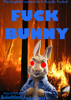 Fuck Bunny official movie poster by JimmyTheNerd