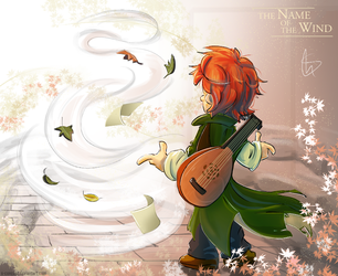 Kvothe by S-concept