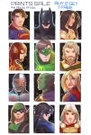 DC SketchCards by Future-Infinity