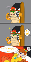 Bowser and Daisy by GeneralScot
