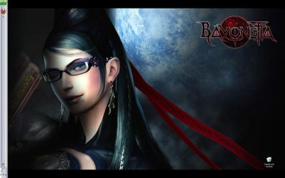 Bayonetta Desktop by RockValley