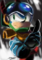 Zonic-the-Zone-Cop by MMJ1999