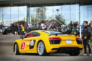 Audi Sport R8 by SeanTheCarSpotter