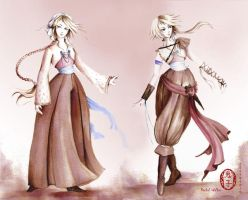 Viola from 12th night by Oniko-art