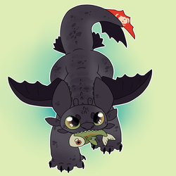 TOOTHLESS by Honey-Beest