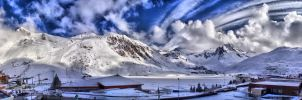 Tignes hdr panorama by Siccie