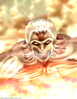 The Armored Titan by DjRoguefire