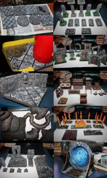 Making DnD tiles and Accessories by MatesLaurentiu