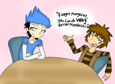 Mordecai x Rigby - Forget That Slut. by vaness96