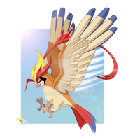 Mega Pidgeot by AlouNea