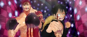 One Piece Chapter 893 Luffy Katakuri Win Fight Col by Amanomoon