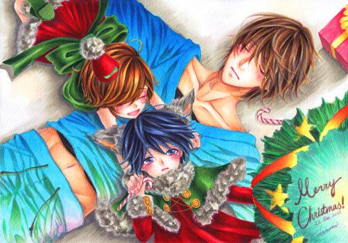 +Merry Christmas 2012+ by ayasemn
