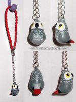 Afgrey parrot car's rear mirror charm by emmil