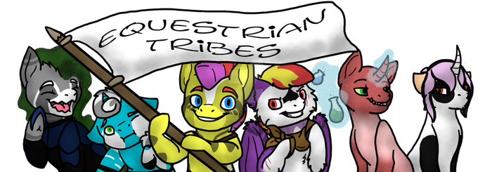 Equestrian Tribes Welcomes You by millemusen