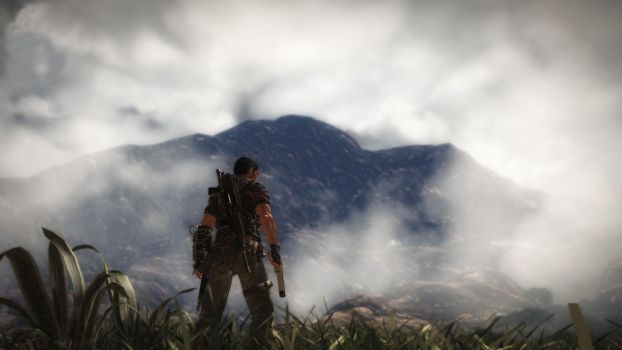 Just Cause 2: Mountain by GenElek