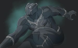 Black panther civil war by 585