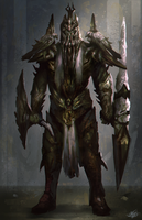 Demon Knight Concept by mlappas