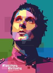 MATT BELLAMY - WPAP BY TONI by toniagustian