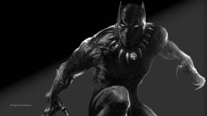Black Panther Wallpaper 5 by Curtdawg53