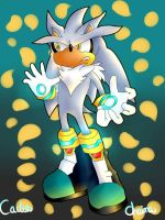 Art Collab: Silver The Hedgehog by TheOneAndOnlyCactus