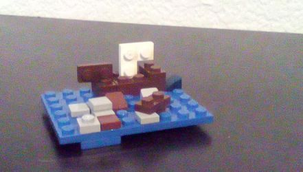 Lego Boat by CleverSketch