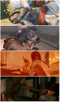 Most painfull death scene in Assassin's Creed by Ammyari