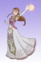 Princess Zelda by BlueGardevoir