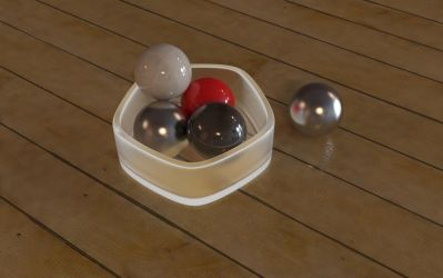 Balls in a cup by kahvi