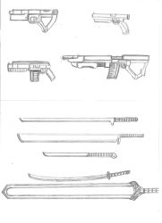 Saga Weapons Set 3 by cpi