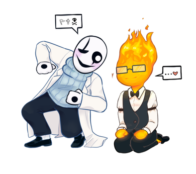 Grillbit And Bitster by vodkaskull