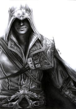 Assassin's Creed - Ezio by D17rulez