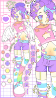 DECORA ANGEL CLOSED by KEROPPEI