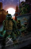 June 20 - Ninja Turtles by KileyBeecher