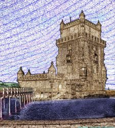 The tower on the islet - La torre sull'isolotto by Book-Art