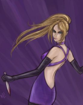 Nina Williams- Silent Assassin by DiamondReflection