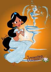 Jasmine fountain by DeedNoxious