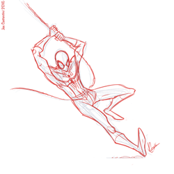 Spidey Sketch #127 by JoeCostantini