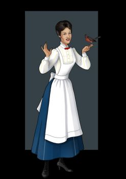 mary poppins (spoonful of sugar) by nightwing1975