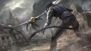 Archangel VS Nightcrawler by Virzoeve