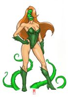Poison Ivy x The Mask - What If? by GhostXS