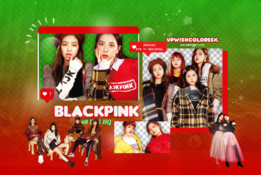BLACKPINK PNG PACK #12/Nylon Japan by UpWishColorssx
