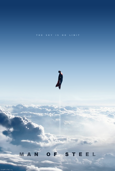 Man of Steel Poster by Dwayne-L