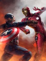 Captain America: Civil War by ChuchuaN