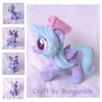 Commission: My Little Plushie Flitter by Burgunzik