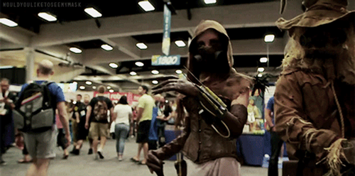 Scarecrow and Becky Albright gif by beckyalbright