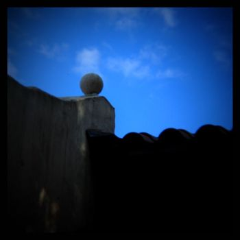 untitled (ball roof ornament) by filmnoirphotos